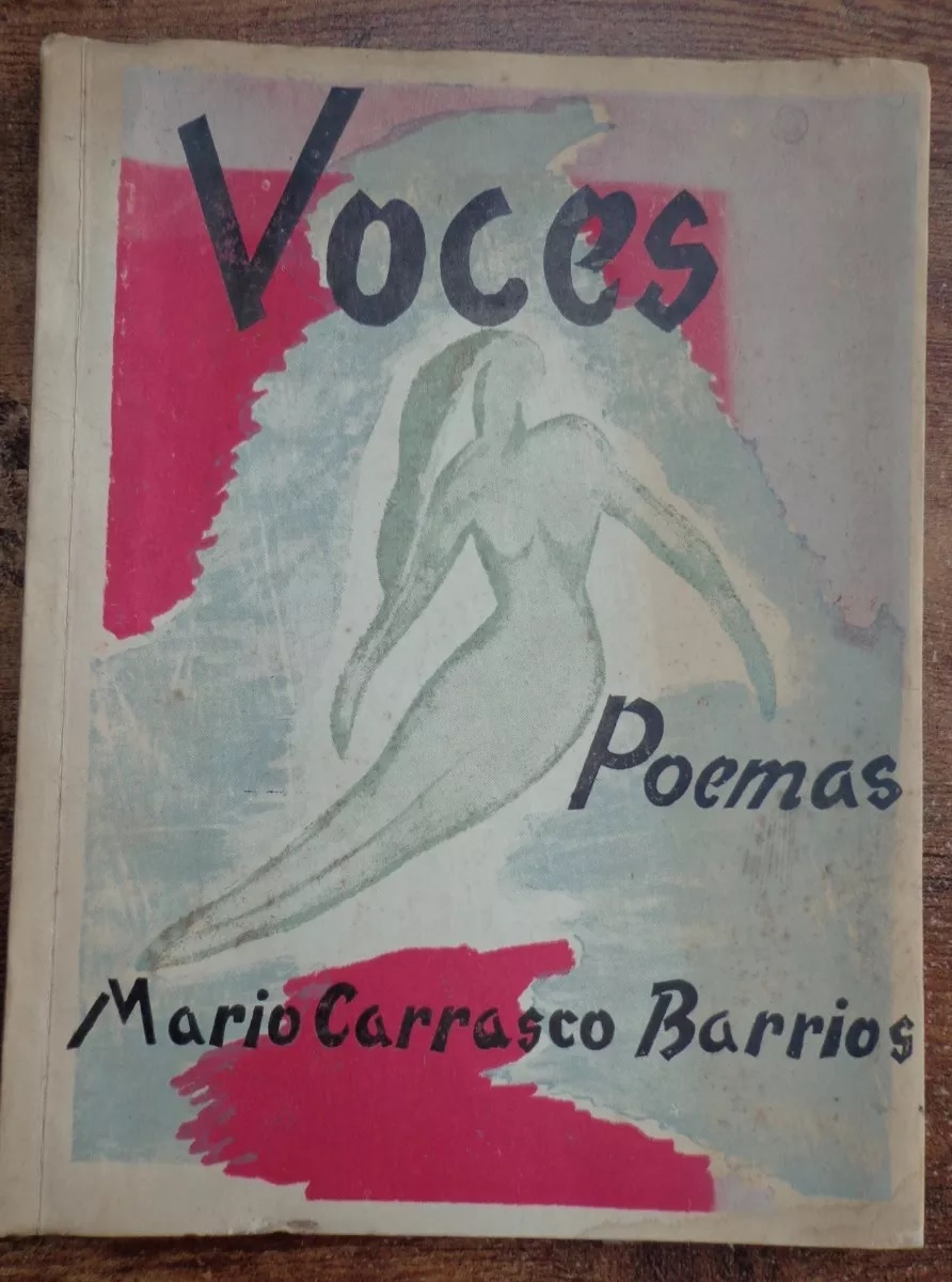Mario Carrasco Barrios. Voces : poemas