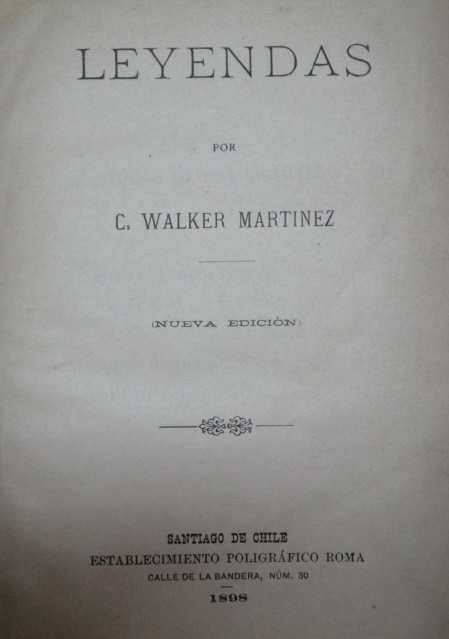 C. Walker Martinez - Leyendas